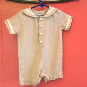 Other - Linen baby suit 18mo